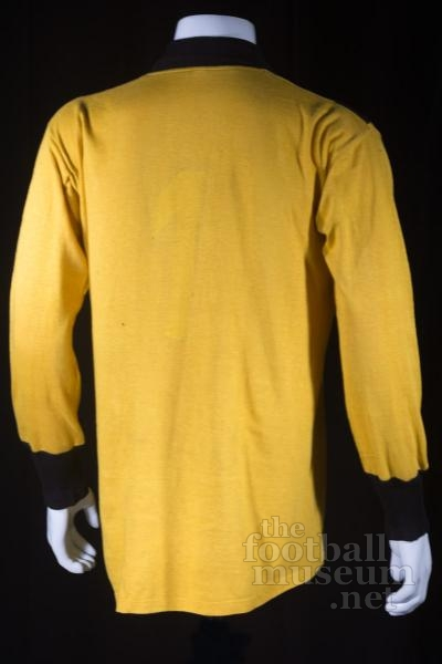 Unknown Goalkeeper  Match Worn Wismut Karl Marx Stadt Shirt