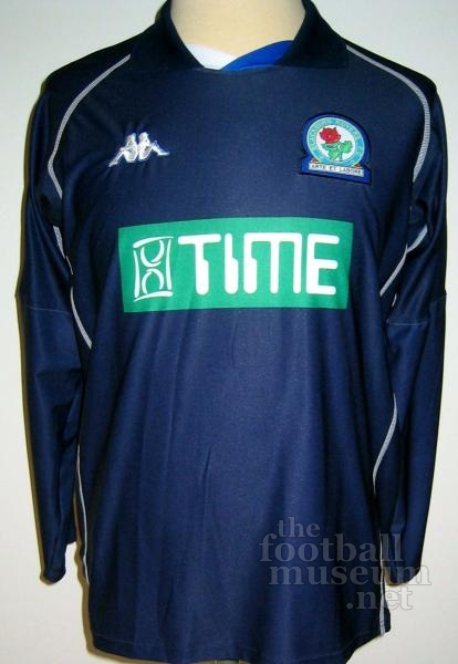 Matt Jansen  Match Worn Blackburn Shirt