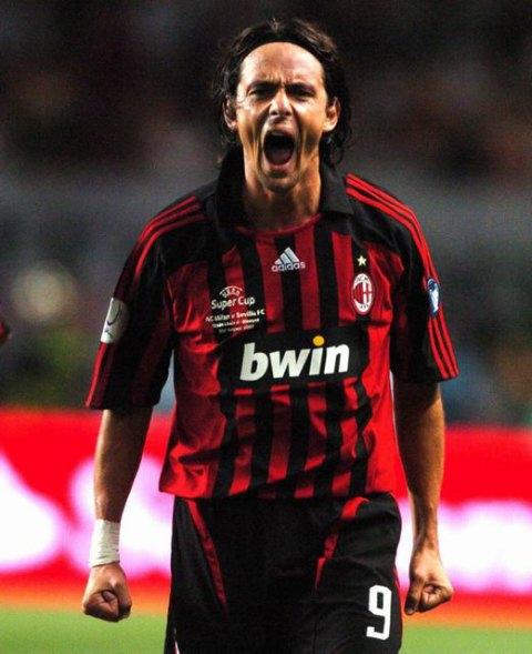 024508938ab Pipo Inzaghi Juventus Match Worn Shirt.