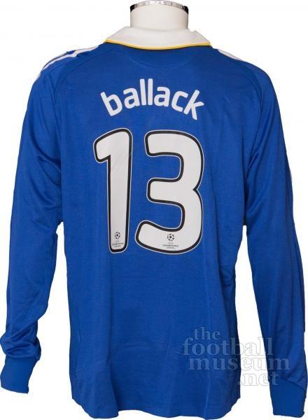 size 40 64552 c0a0d Michael Ballack Chelsea Match Worn Shirt.