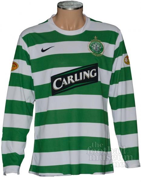 new arrival e4f69 97c57 Shunsuke Nakamura Celtic Match Worn Shirt.