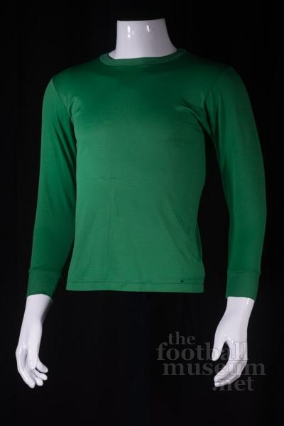 Willie Wallace  Match Worn Celtic Shirt